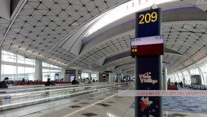 Abflug Hong Kong