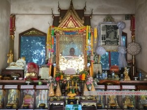 Mönch mit wenig Besuch