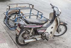 Thailand-Beiwagenmoped